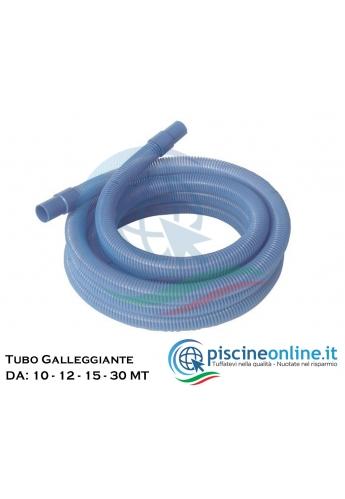 Tubo galleggiante colore azzurro, Ø 38 mm, senza terminali mt. 30