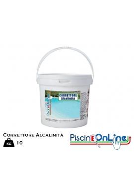 CORRETTORE DI ALCALINITA' - TRATTAMENTO PER INNALZARE IL VALORE - CONFEZIONE DA 10 KG