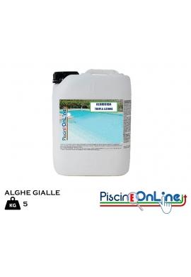 ALGHICIDA ANTIALGHE PER ALGHE GIALLE CON AZIONE FUNGHICIDA - CONFEZIONE DA 5 LITRI OFFERTA ONLINE