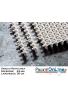 GRIGLIA RETTILINEA Spessore 25 mm - Larghezza 30 cm - A NORMA UNI-EN e FINA Per Piscine Bordo Sfioro Pubbliche e Private
