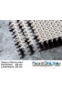 GRIGLIA RETTILINEA Spessore 25 mm - Larghezza 25 cm - A NORMA UNI-EN e FINA Per Piscine Bordo Sfioro Pubbliche e Private