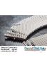 GRIGLIA CURVABILE Spessore 20 mm - Larghezza 25 cm - A NORMA UNI-EN e FINA Per Piscine Bordo Sfioro Pubbliche e Private
