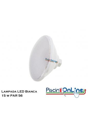 LAMPADA PAR 56 ECOPROOF LUCE BIANCA 30 LED 15W ON/OF