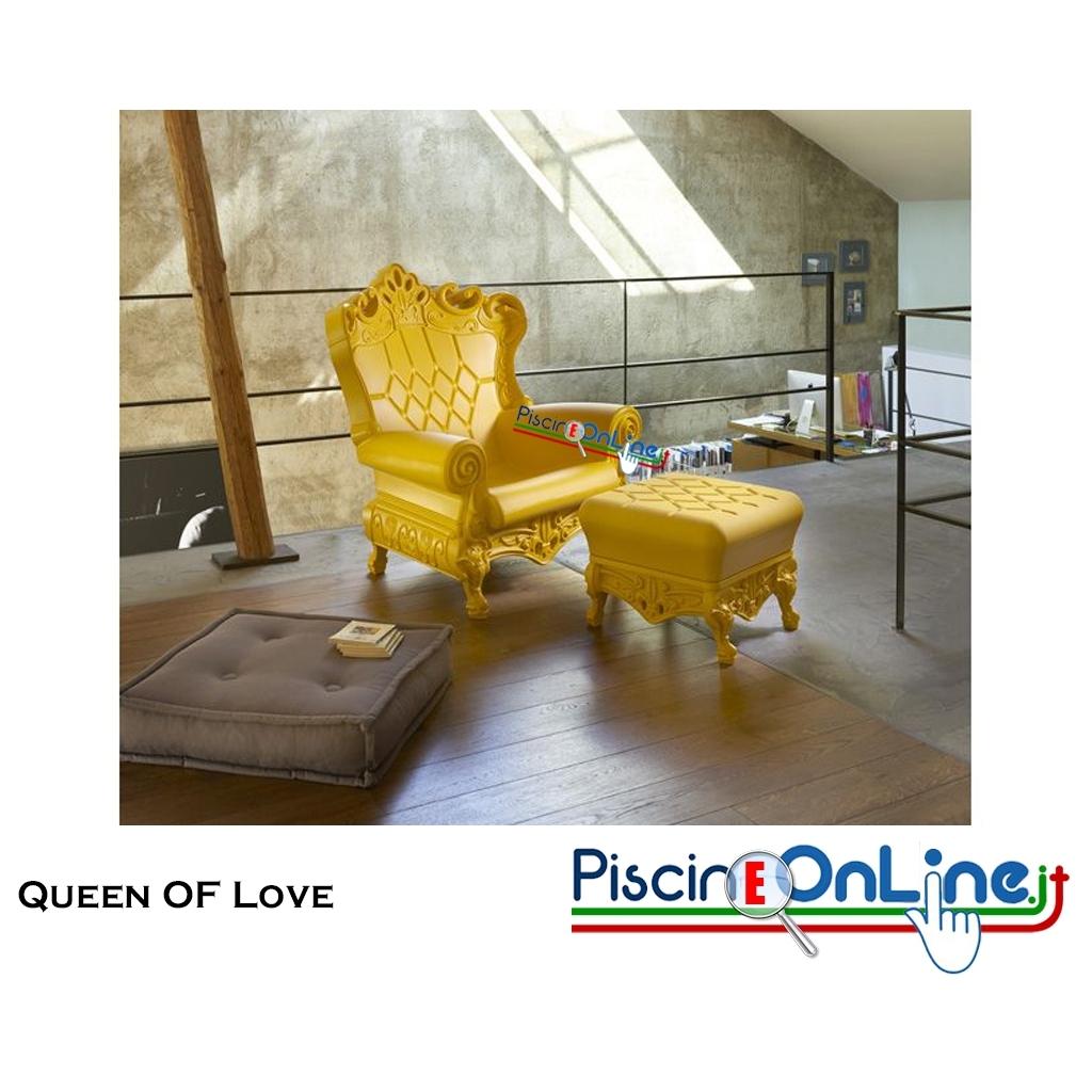 POLTRONA QUEEN OF LOVE by MORO E PIGATTI DESIGN ...