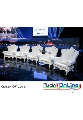 POLTRONA QUEEN OF LOVE by MORO, PIGATTI DESIGN
