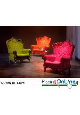 POLTRONA QUEEN OF LOVE by MORO E PIGATTI DESIGN