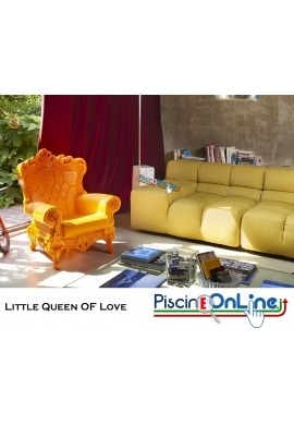 POLTRONCINA LITTLE QUEEN OF LOVE by MORO E PIGATTI DESIGN