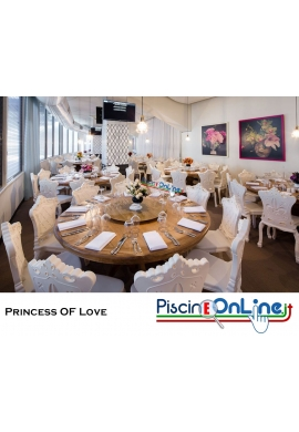 SEDIA PRINCESS OF LOVE by MORO E PIGATTI DESIGN