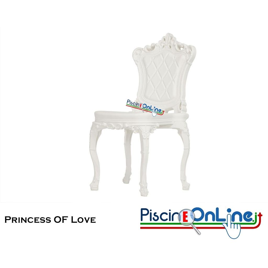 sedia princess of love by moro e pigatti design
