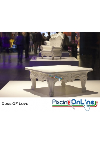 TAVOLINO DUKE OF LOVE by MORO E PIGATTI DESIGN