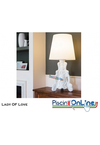 LAMPADA LADY OF LOVE by MORO E PIGATTI DESIGN