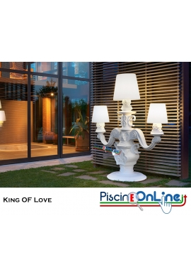 LAMPADA KING OF LOVE by MORO E PIGATTI DESIGN