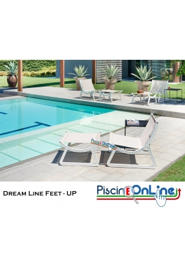 POGGIAPIEDI DREAM LINE FEET-UP by MARCO ACERBIS DESIGN - VERSIONE BATYLINE (poliestere e pvc)