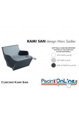 CUSCINO (SOLO) PER POLTRONA KAMI SAN by MARC SADLER DESIGN