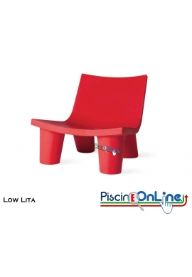 POLTRONCINA LOW LITA by PAOLA NAVONE DESIGN