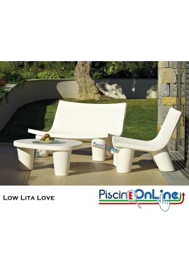 POLTRONA DOPPIA LOW LITA LOVE by PAOLA NAVONE DESIGN