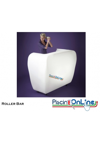 ANGOLO BAR ROLLER BAR by GERD VAN CAUTEREN DESIGN