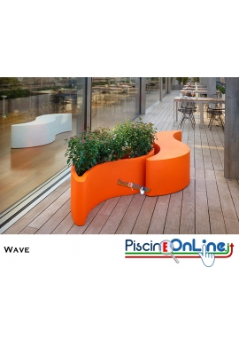 PANCA TRASFORMABILE A VASO WAVE by GIO' COLONNA ROMANO