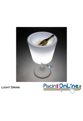 LAMPADA PORTA BOTTIGLIE LIGHT DRINK by JORGE NAJERA