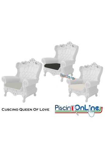 CUSCINO (SOLO) PER POLTRONA QUEEN OF LOVE by MORO E PIGATTI DESIGN - ACCESSORI PER ARREDO IN OFFERTA