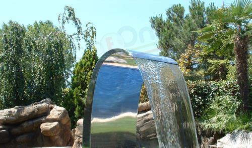 cascata mini in acciaio inox 304