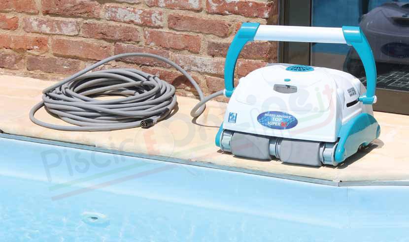 pulitore robot per piscine