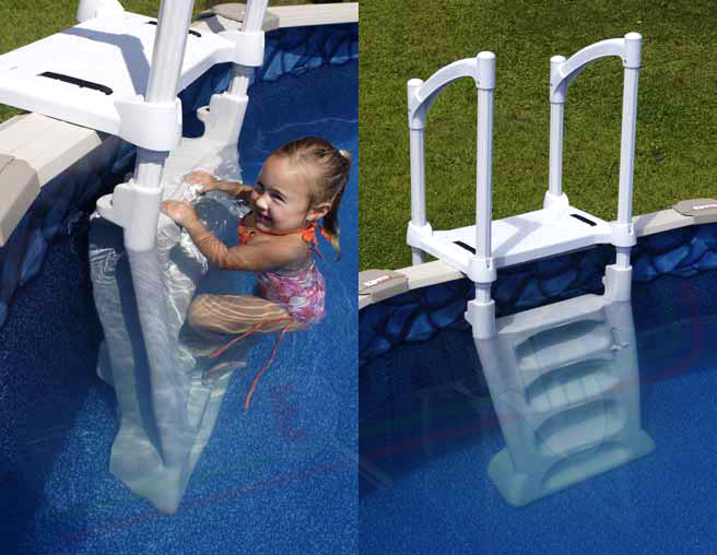 scaletta per piscine rigide