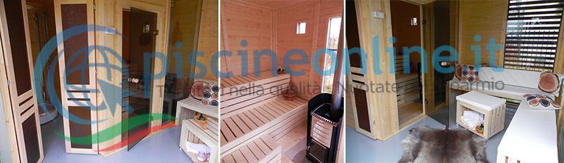 sauna garden