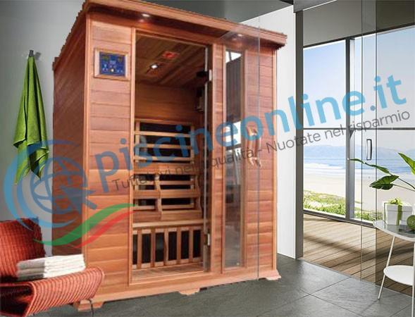 sauna tre posti