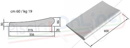 Misure sezione dritta