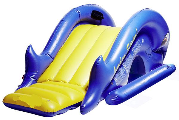 Scivolo per piscina gonfiabile effetto pioggia - Scivolo gonfiabile per piscina ...