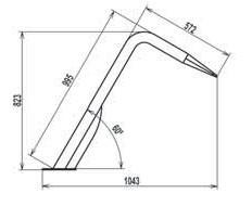 Misure laterali modello flat