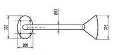 Misure cannone FLAT