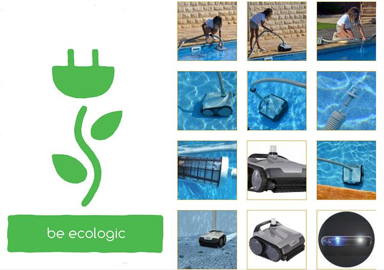 Robot pulitore piscina idroelettrico novita 39 assoluta for Piscine online